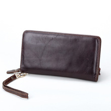Brand Classic Men Wallet European&American Genuine Leather Wallets Fashion Purse Card Holder Man Vintage Wallets Clutch