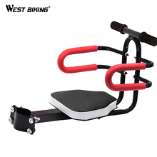WEST BIKING Quick Release Front Kids Saddle Armrest Handlebar Mountain Bike Electric Bicycle Folding Children Safety Front Seats