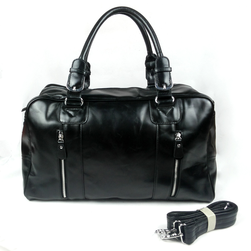 3 high quality wax cowhide genuine leather male vintage the super large capacity portable travel bag<br><br>Aliexpress