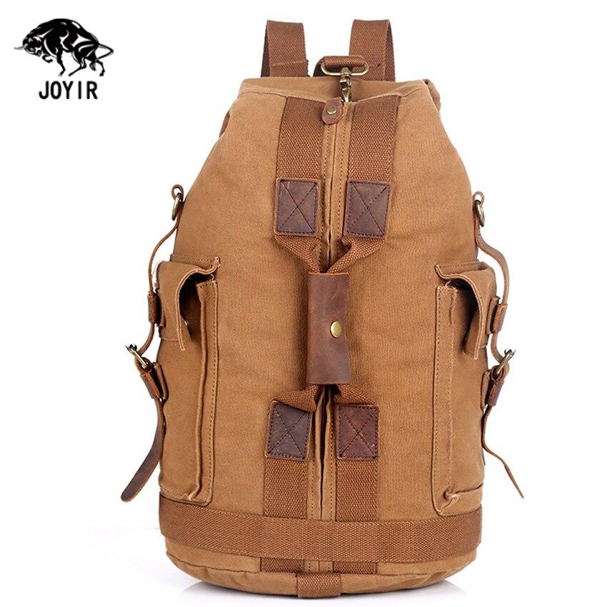 2016 Cheap Canvas Backpack Men Military School Bag 1.25 kg Bagpack Rucksack Male Vintage Laptop Backpack Army Travel Duffle Men<br>