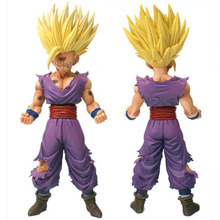 20cm Anime Dragon Ball Z Super Saiyan Son Gohan Action Figures Master Stars Dragonball Figurine Collectible Model Toy