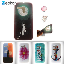 Fashion coloured drawing TPU 4.5for Motorola Moto G Case For Motorola Moto G XT1032 Cell Phone Back Cover Case