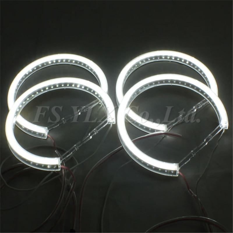 New 42 SMD LED angel eyes for BMW E46 E38 E39 LED headlight halo rings kits for BMW E46 E36 E38 E39 4*131mm LED angel eyes kits<br><br>Aliexpress