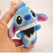Baby plush toys interstellar baby little stitchy dolls dolls small pendant cartoon bouquet doll key pendant