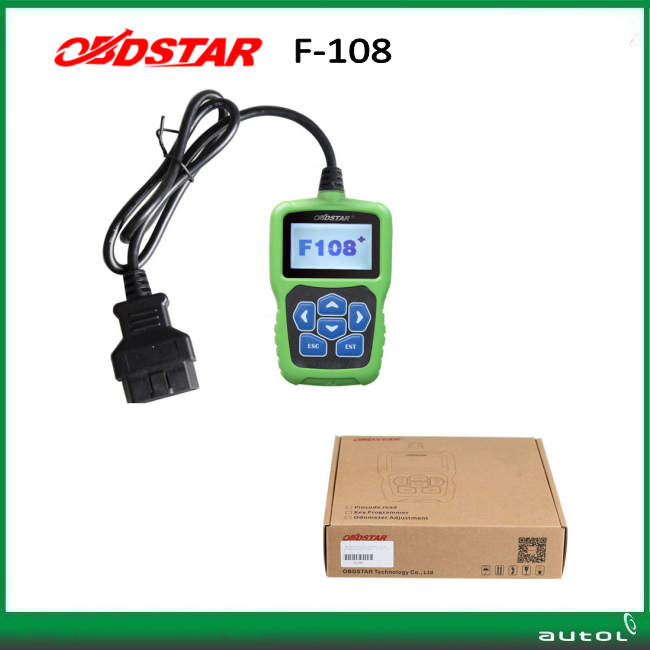 OBDSTAR F108+ PSA PIN CODE Reading Key Programming Tool for Peugeot / Citroen / DS PSA Pin Code Reader F108 Key Programner(China)