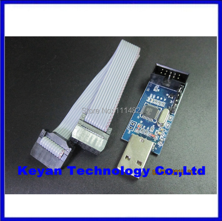 YS-38 USB ISP Programmer for ATMEL AVR ATMega ATTiny 51 AVR Board ISP(China)