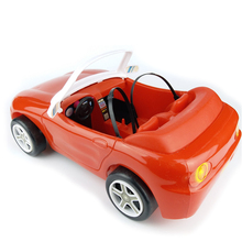 New Arrival BDCOLE 2-seat Off-road Convertible and Sports Car Toy for Barbie Doll House Accessories Pretend Play Toys for Girl(China)