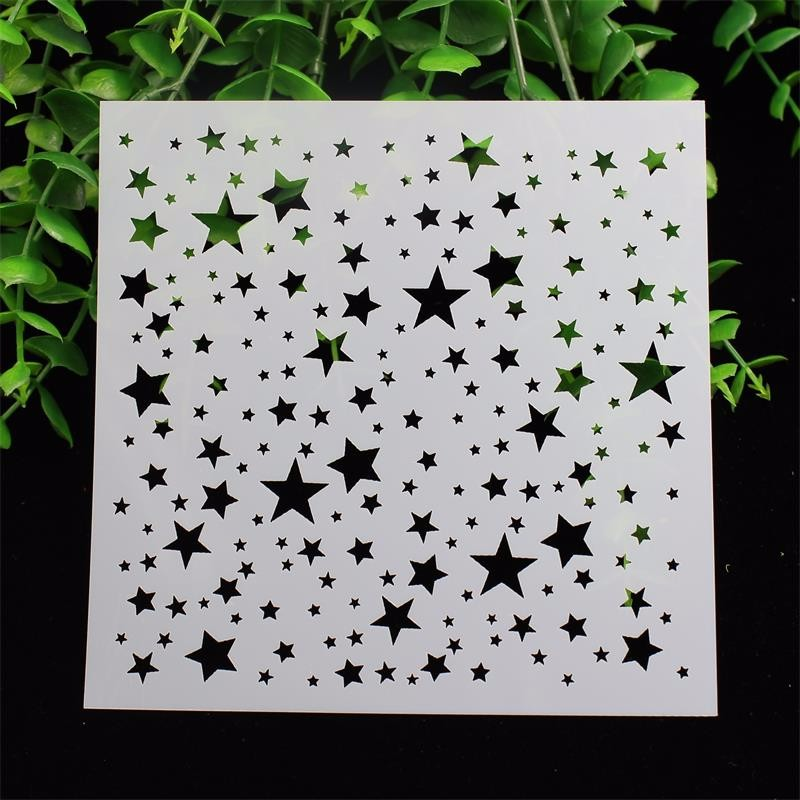 Five Star Layering Stencils for DIY Scrapbooking/photo album Decorative Embossing DIY Paper Cards Crafts<br><br>Aliexpress