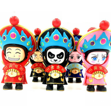 10cm Chinese Traditional Toys Culture Face-Changing In Sichuan Opera Doll Change Face/face Off Traditional China Child Toys(China)