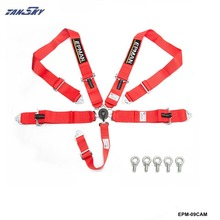 "TANSKY - EPMAN 5 Point Camlock Quick Release Racing Seat Belt Harness 3"" SFI 16.1 Certified EPM-09CAM-AF(China)"