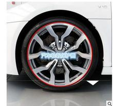 2016 Hot Sale car wheel hub tire sticker FOR AUDI A1 A3 A4 B6 A6 C5 A4L a4 b8 A6L A7 A8L A5 S5 S6 A8 S8 Q3 Q5 Q7 SQ5 Q1 R8 RS5