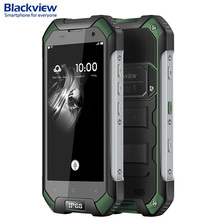 Original Blackview BV6000S 16GB/2GB Network 4G IP68 Waterproof Shockproof 4.7'' Android 7.0 MTK6735 MTK6737T Quad-core 1.3GHz(China)