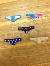 10pcs/lot Hot Sale 3D Underwear Sexy Cute Dust Plug Silicone Push-button Phones For Phone 5 4 4S Gadgets Stubs for phone