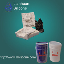 price of rtv2 liquid silicone rubber for plaster/gypsum casting mold(China)