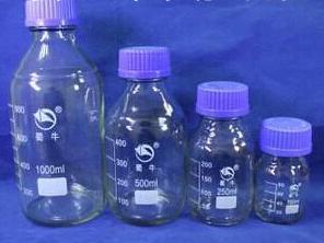 1000ml SHUNIU glass WHITE reagent bottles<br>