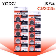 YCDC 3.28 Big Promotion 10 x 3V Lithium Button/CoCells Batteries 2025 CR2025 BR2025 DL2025 KCR2025 L12