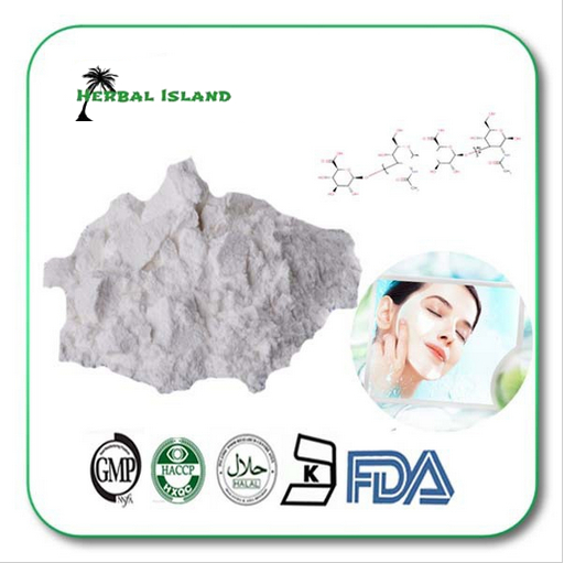 food grade foods containing low molecular weight 30,000- 80,000 Hyaluronic acid HA powder(China (Mainland))