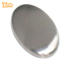 Stainless Steel Soap - Oval Shape Deodorize Smell from Hands Retail Magic Eliminating Odor Kitchen Bar C2007P10(China)