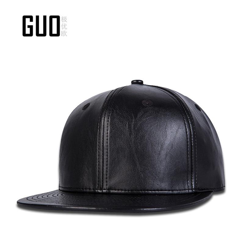 11 Original quality leather Baseball Cap Adjustable dad hatsMan Black Hat fashion hats Simple +Breathable sweat-absorbent<br><br>Aliexpress