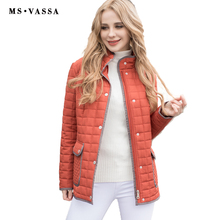 2017 New jacket Women casual jacket Spring & Winter ladies jacket rips tape around the hem and placket plus size 6XL 7XL