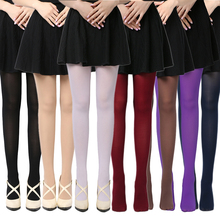 Buy Sexy High Elastic Footed Stockings Women Hot Opaque Thine Dance Tights Lady Pantyhose Autumn Winter Thick Warm Free Shipping