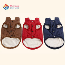 Buy Winter pet coat clothes dogs Winter clothing Warm Dog clothes small dogs furmins big dog coat Winter clothes chihuahua for $6.48 in AliExpress store