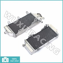 1 Pair New L / R Aluminium Alloy Core  Motorcycle MX Offroad Radiators Cooling for YAMAHA YZ 250 450 F YZ250F YZ450F 2014 2015