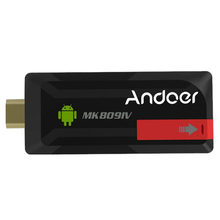 Andoer RK3188T MK809IV Quad Core 2G/8G Mini PC Android TV Stick dongle XBMC WiFi Bluetooth 4.0 Better than Android 4.4 TV box