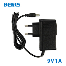IC Chip Wall Charger 9 V 1A Supply Power Adaptor For Router With DC 5.5*2.5mm EU Plug