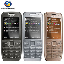 Original Nokia E52 Unlocked Mobile Phone Bluetooth 3G WIFI GPS russian keyboard support e52 phone
