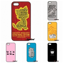 Cats Soft kitty song The Big Bang Theory Phone Case For iPhone 4 4S 5 5C SE 6 6S 7 Plus Galaxy J5 J3 A5 A3 2016 S5 S7 S6 Edge