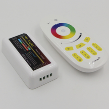 DC 12-24V 4-Zone 2.4G Wireless RF Dimmable wifi strip Remote controller for 5050 3528 led RGBW W/WW RGB strip light(China)