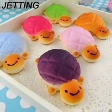 squishy slow rising Key Soft Bread Cell Phone Chain HOT Tortoise Squishy Buns phone Straps Charms Random Color