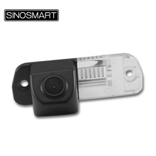 SINOSMART In Stock Car Rearview Parking Camera for Mercedes Benz GL450 R350L R350 R280 CLS300 Install in License Plate Lamp Hole(China)