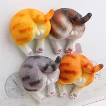 Cute 3D Corgi Dog Ass Cartoon Animal Creative Fridge Magnets Home Decor Gift DIY Accessories Gift Home decorations Stickers