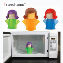 Angry Mama Microwave Oven Steam Cleaner With Vinegar and Water Easy Cleans Household Kitchen Cleaning Tools(China)