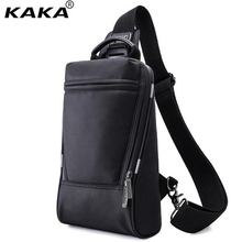 KAKA New Spring Summer Men Chest Bag Luxury Brand Men's Shoulder Bag Waterproof Travel Bags Korean Mini Messenger Pack A415(China)