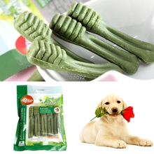 Pet Supplies Dog teeth stick Pet Fresh Clean Teeth Bones Puppy Dog Tooth Stick Pet Training Snacks Bite Dog chew Play toy(China)