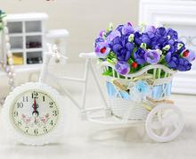 Aqumotic Home Accessories Watches Flower Floats Plastic Flowers Decorative Flowers Plant Potted Living Room Bedroom Furnishings