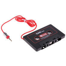Car Audio Tape Cassette Adapter 3.5mm Jack AUX For Mp3 CD Radio Player Converter