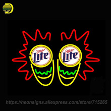 Art Neon Sign Molson Montreal Canadiens Natty Boh Bar Miller Lite Congo Drum Larry Dixon NHRA Rusty Wallace Last Call Sequencing