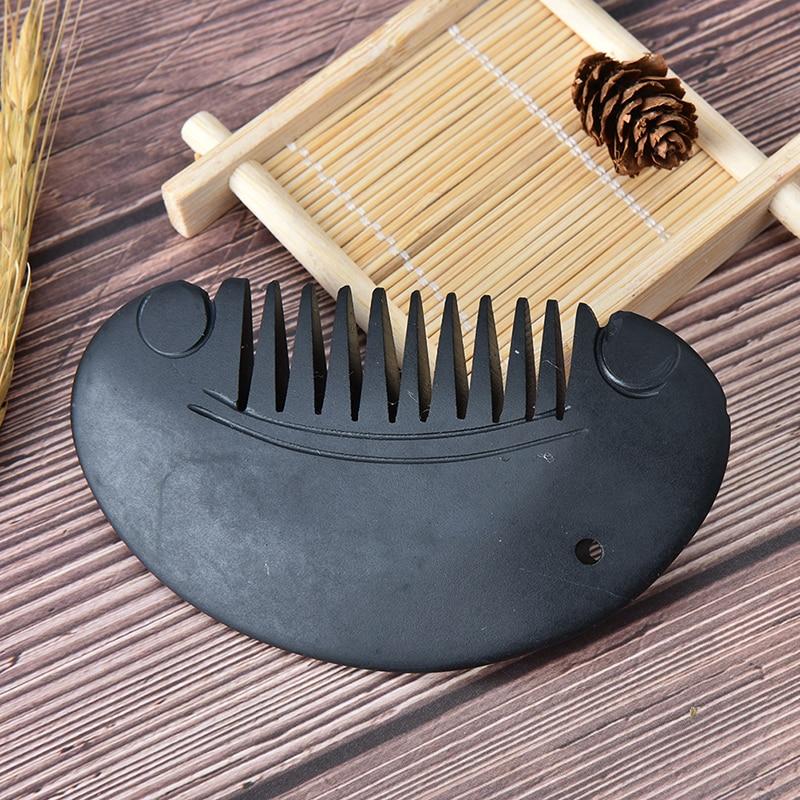 Natürliche Bian Stein Guasha Gua Sha Kamm Massage Kratzen Therapie OX
