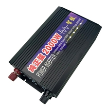 Pure Sine Wave Power Inverter Peak 2000W DC/AC Inverter Converter DC 12V/24 to AC 220V for Solar Energy Systems(China)