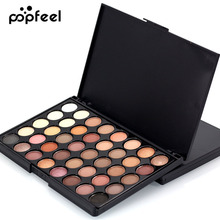 40 Color Matte Eyeshadow Pallete Make Up Palette Eye Shadow Glitter Natural Easy to Wear Waterproof Lasting Makeup Pallete(China)