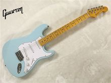 Electric guitar Electric guitar wholsale NEW ermik st guitarra sky blue color maple neck oem electric guitar/guitar in china
