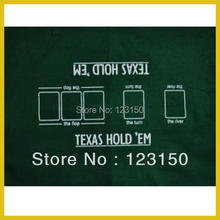 ZB-030 Non-woven fabric Texas Holdem Table Cloth, Classic 60*90cm(China)