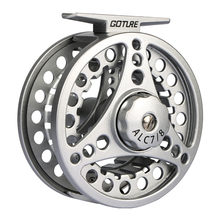 Goture Fly Fishing Reel ALC 3/4,5/6,7/8 Aluminum Frame Spool Left Right Hand Die Casting Fly Reel Ice Reel For Fishing(China)