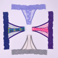 Buy S-6XL big size women cotton lace sexy underwear ladies panties lingerie bikini lingerie pants thong intimate wear 6pcs/lot ah103