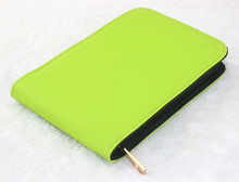 HIGH QUALITY LUXURY green ROLLER AND FOUNTAIN PENS CASE HOLDER FOR 12 PEN