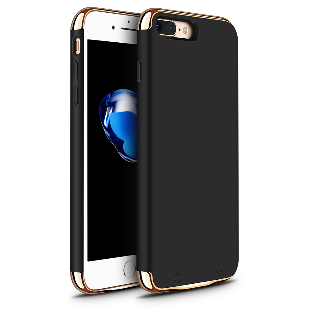 Battery Charger Case 3500mAh iPhone 7plus 8plus Power Bank Ultra Thin External Backup Battery Case iPhone 8 7 plus 5.5""